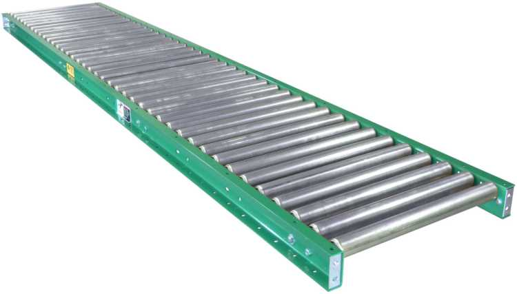 Gravity Conveyor 30 Inches Wide 5 Feet Long 1 9 Diameter Rollers