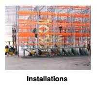 Pallet Rack Installation